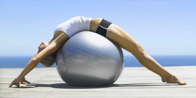 dimagrire con la fitness ball