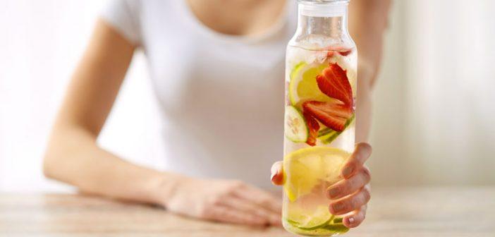 bottiglia per acqua detox