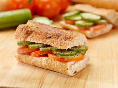 pane per la dieta del panino
