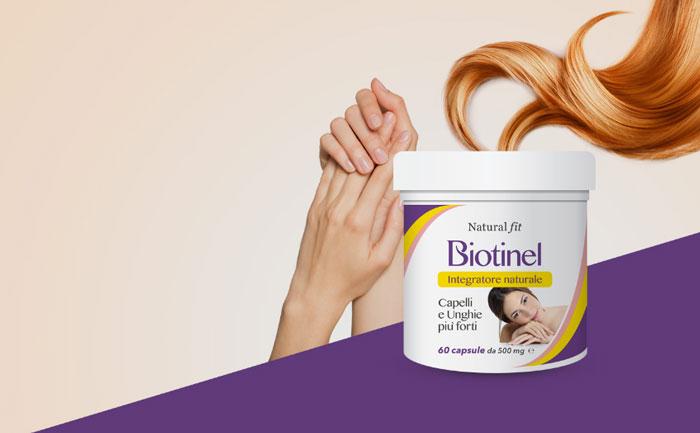 biotinel integratore unghie capelli