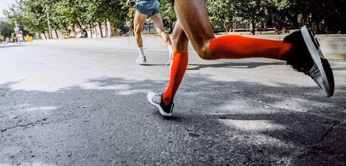 calze a compressione running