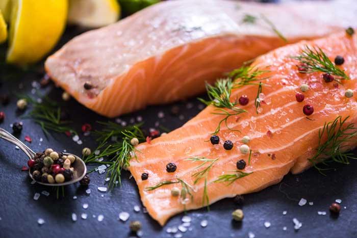 dieta del pesce