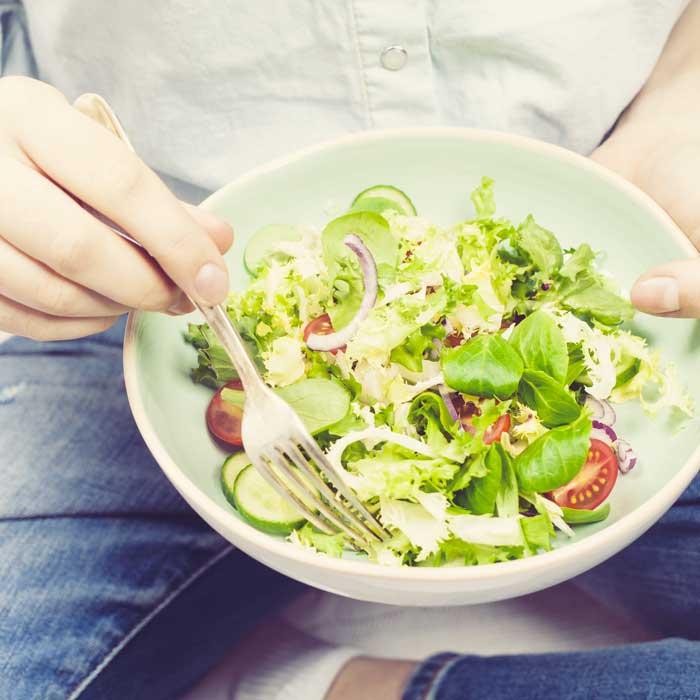 dieta insalata e verdure