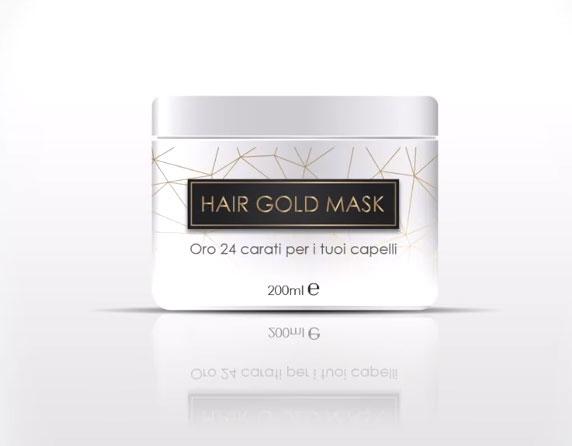 maschera capelli Hair Gold Mask