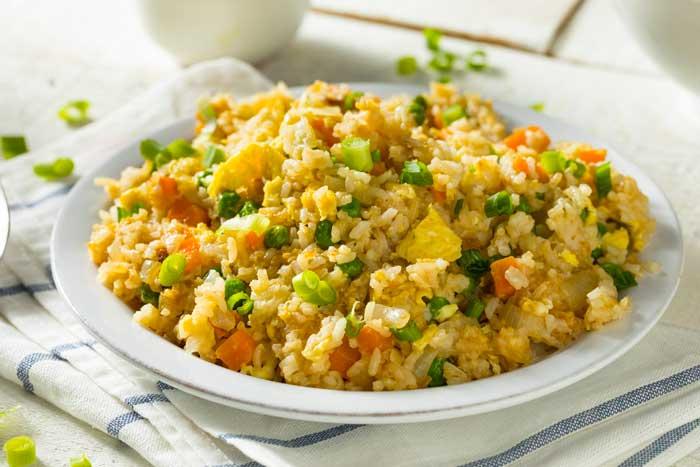menù dieta del riso