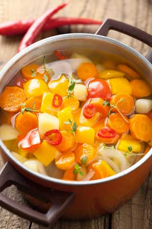 ricetta dieta del minestrone