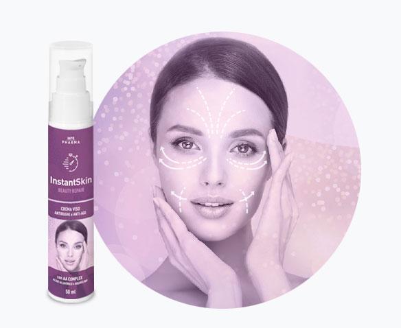 InstantSkin-crema viso antirughe
