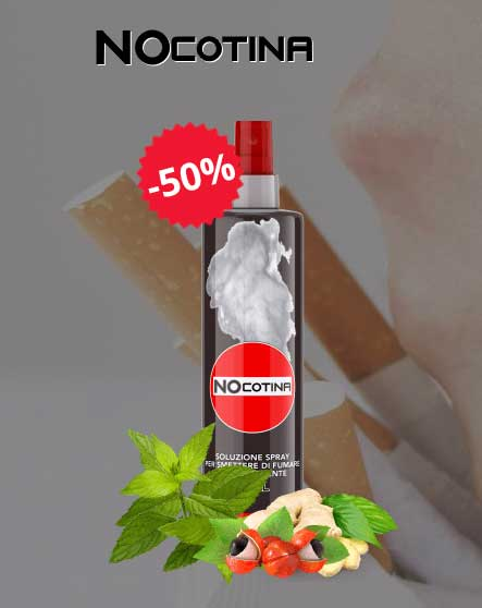 spray Nocotina per smettere di fumare