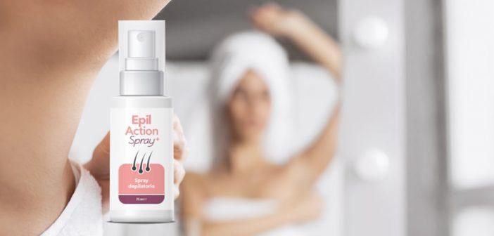 epil action spray depilatorio