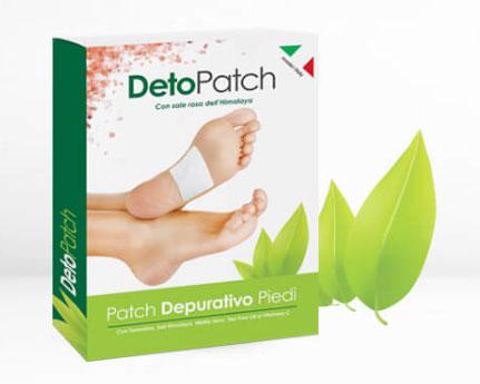 detopatch cerotti detox per piedi