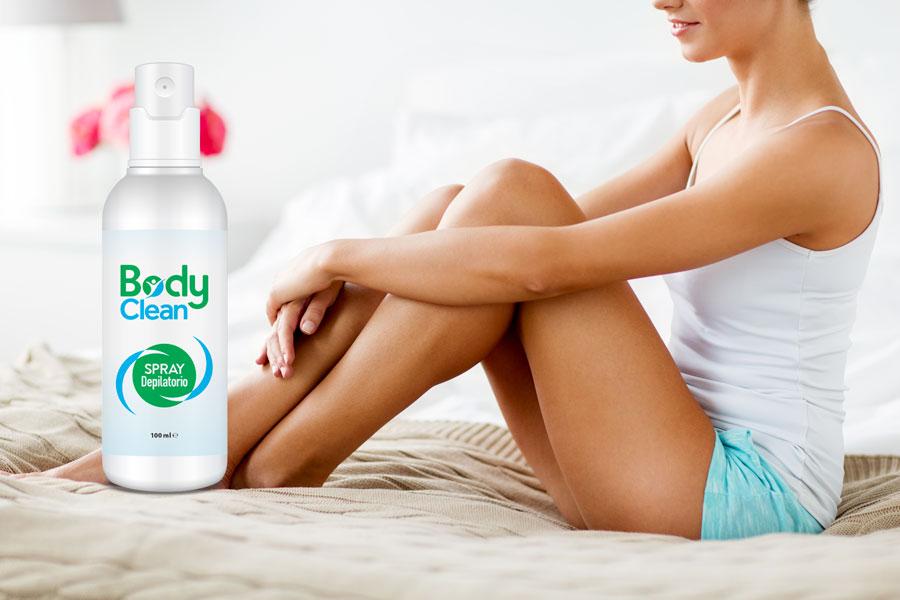 body clean spray depilatorio naturale