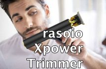 rasoio xpower trimmer