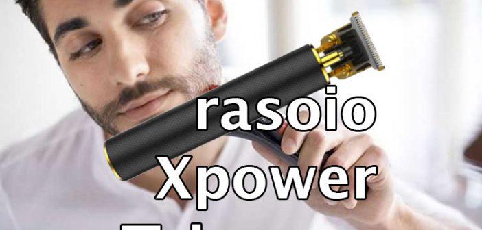 rasoio xpower trimmer
